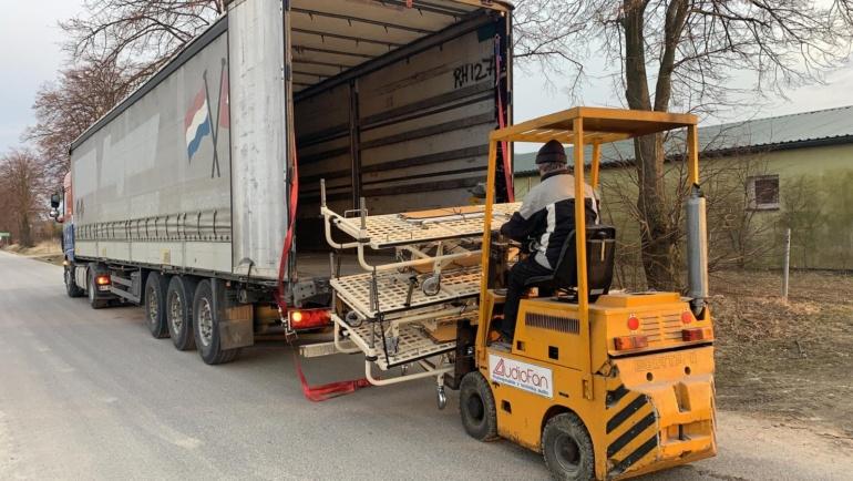 Drugi transport sprzętu rehabilitacyjnego na Ukrainę