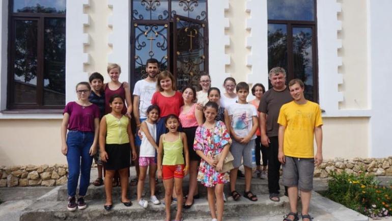 Półkolonia dla dzieci w Suchumi