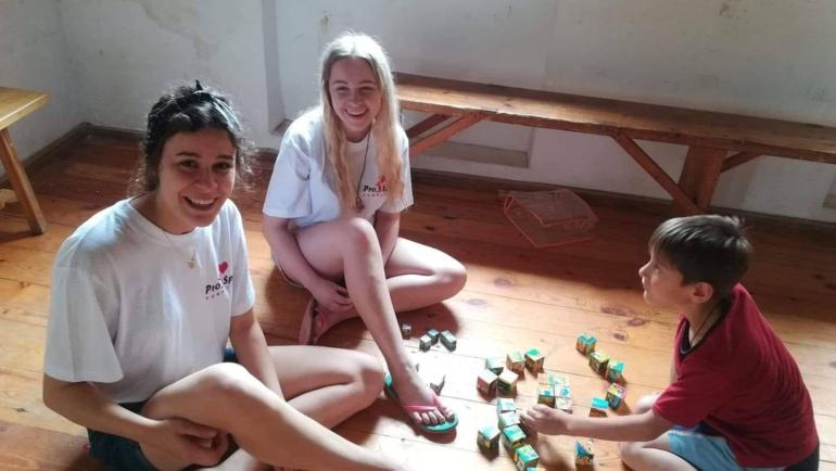 Wspomnienie z wolontariatu – Agnieszka