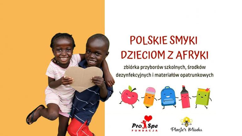 """Druga edycja """"Polskie Smyki Dzieciom z Afryki"""""""